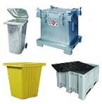 Diverse Behälter für alle Fälle