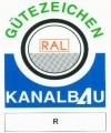Gütezeichen RAL Kanalbau